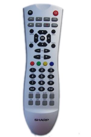 Remote Tivi Sharp Aquos LCD