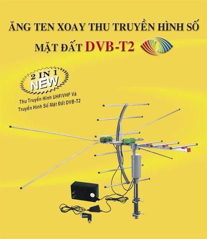 ANGTEN DVB- T2 XOAY 360 ĐỘ