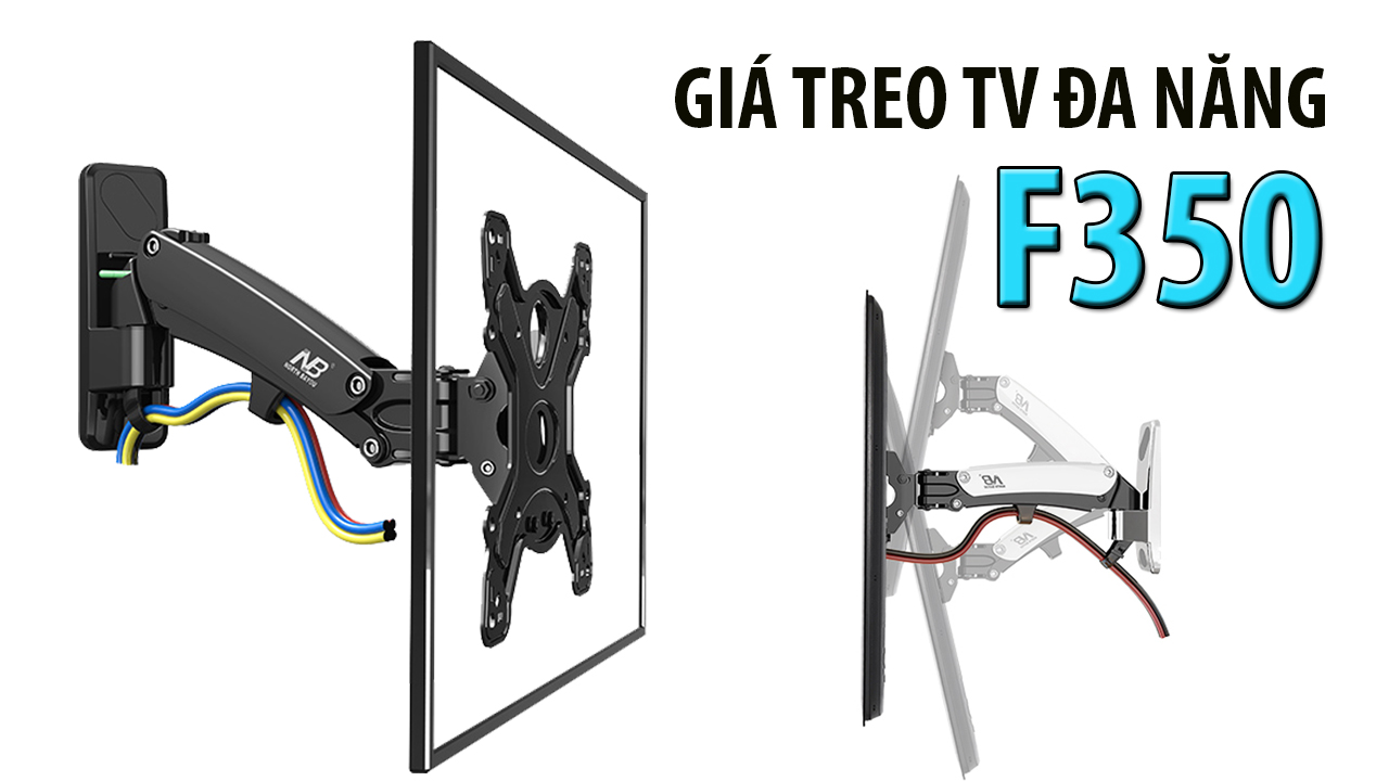 (Khung treo tv Đa Năng nâng TV Lên Xuống Bằng ống thủy Lực, chỉ có màu đen)